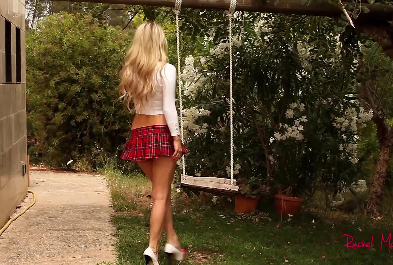 Rachel Tease My Little School Girl Uniform