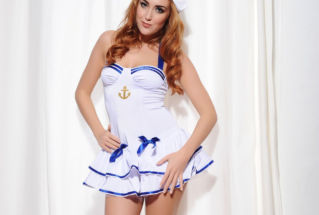 Cute sailor outfit
