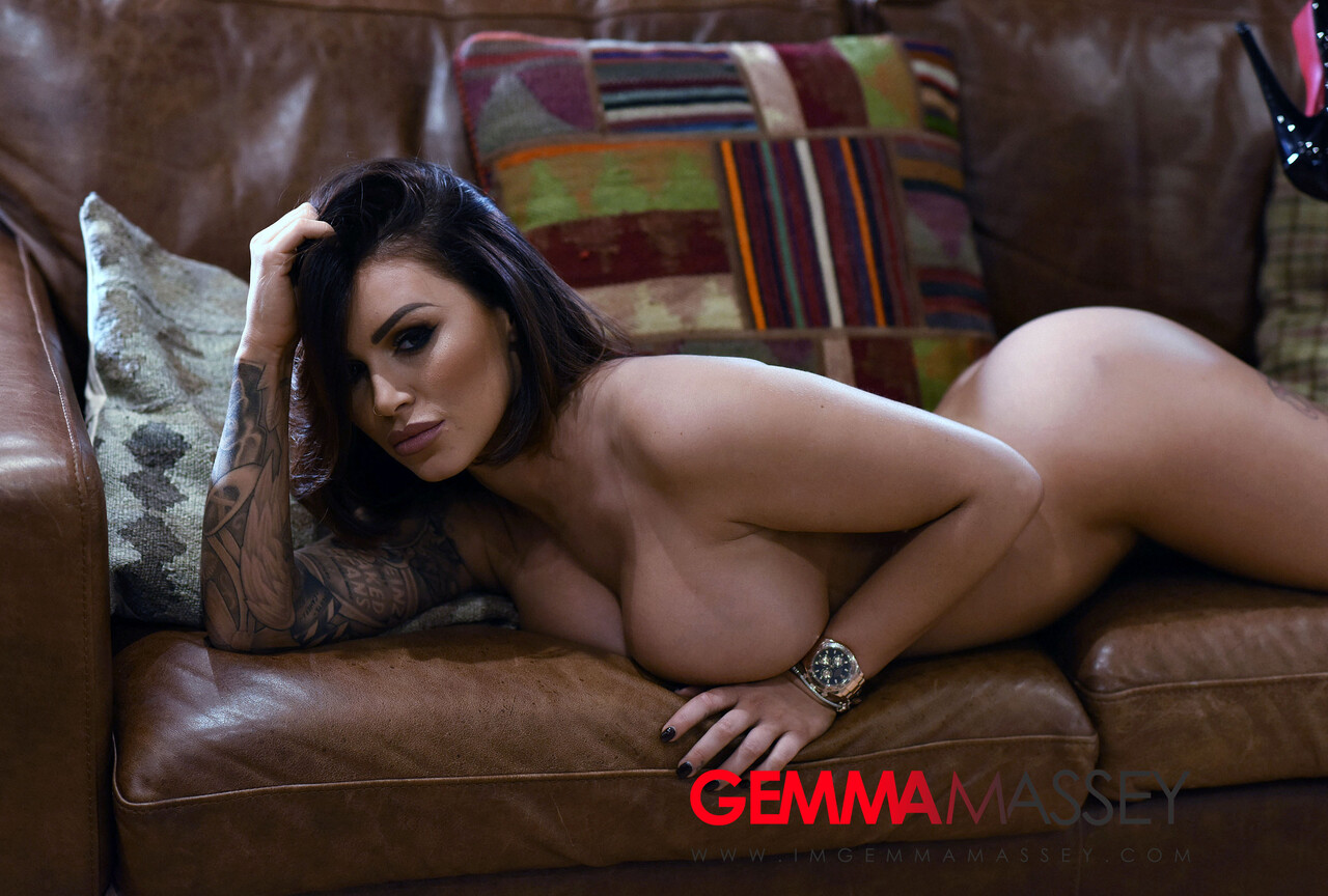 Gemma Naughty on the Bed