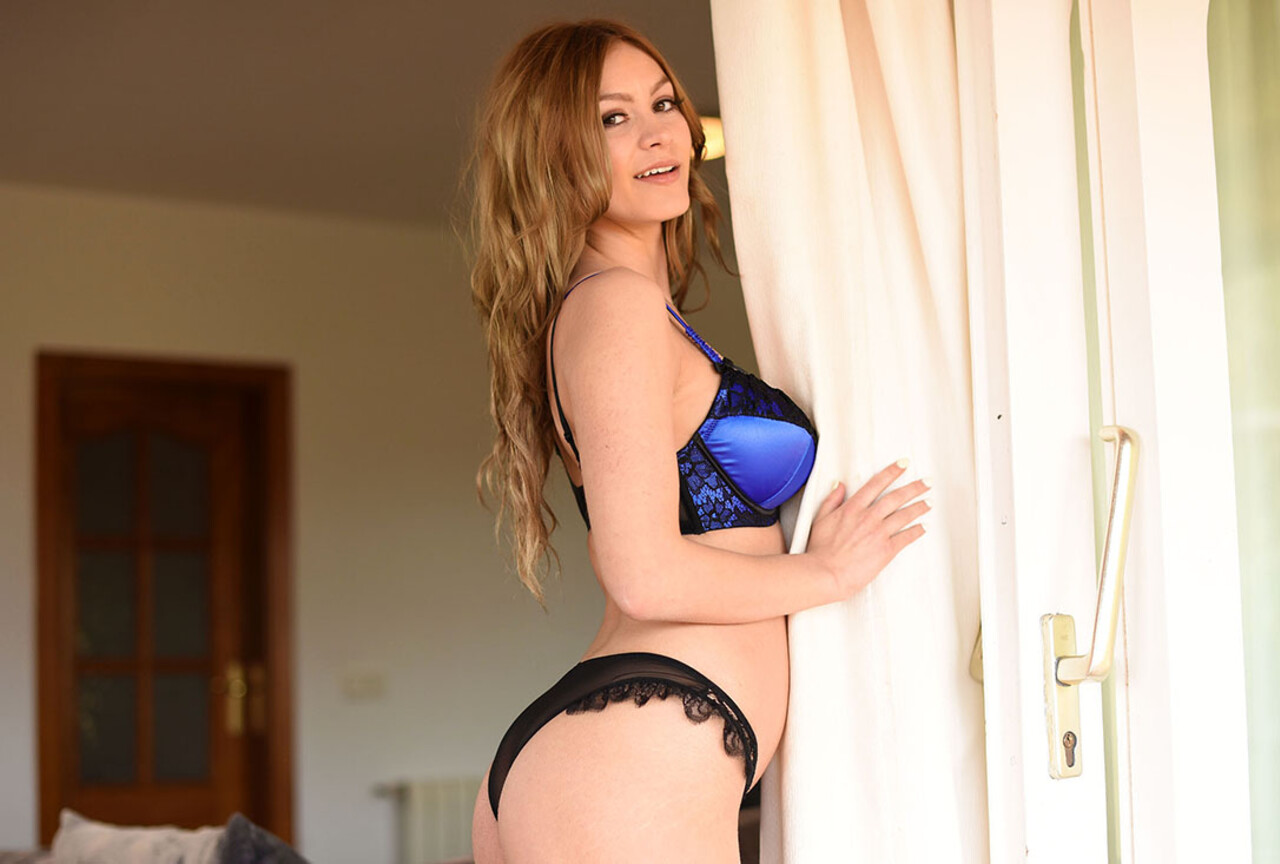 Summer in Sexy Blue Lingerie